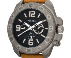 GUESS Men's 46mm Viper Watch - Sand/Grey/Black 3