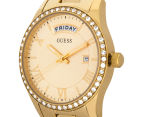 GUESS Women's 37mm Cosmopolitan Watch - Gold 3