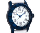 GUESS Women's 26mm Sportini Watch - White/Blue 2
