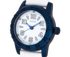 GUESS Women's 26mm Sportini Watch - White/Blue 3
