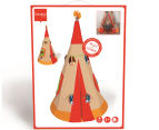 Scratch 190x130cm Teepee Tent - Beige 6