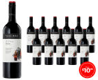 12 x Yalumba Y Series SE Australia Shiraz 2015 750mL 1
