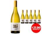 6 x Heggies Eden Valley Chardonnay 2013 750mL 1