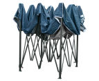 Pop-Up 3x3m Garden Outdoor Gazebo - Navy 6