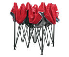 Pop-Up 3x3m Garden Outdoor Gazebo - Red 6