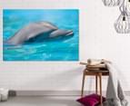 Perfect Smile by Adam Duffy 75x50cm Framed Canvas Wall Art 2