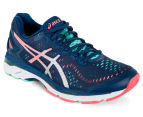 ASICS Women's GEL-Kayano 23 Shoe - Poseidon/Silver/Cockatoo 2