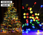 Solar Powered LED Party Lights 100-Pack - Multi-Colour 1