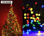 AC Powered LED Party Lights 100-Pack - Multi-Colour 1