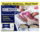 Bed Boost Inflatable Mattress Cushion - Blue 1