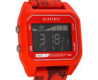 Electric ED01-T Nato Digital Watch -  Twin Fin Red 2
