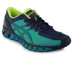 ASICS Men's GEL-Quantum 360 2 Shoe - Dark Navy/Safety Yellow 2