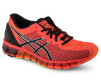 ASICS Women's GEL-Quantum 360 2 Shoe - Flash Coral/Black/Silver 2