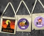 Personalised Kids' Halloween Tote Bag - Beige 5