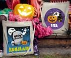 Personalised Kids' Halloween Tote Bag - Beige 6