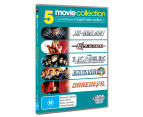 Super Hero Action DVD 5-Pack (M)  1