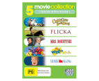 Live Action Kids' DVD 5-Pack (PG)  2