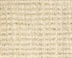 Maple & Elm 270x180cm Natural Fibre Chunky Knit Jute Rug - Bleached 4