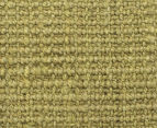 Maple & Elm 270x180cm Natural Fibre Chunky Knit Jute Rug - Green 4
