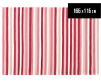 Modernity 165x115cm Super Soft Acrylic Rug - Candy Stripe 1