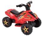 Kids' Quad Raptor Ride-On Toy Bike - Red 1
