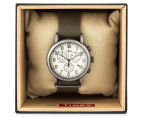 Timex 40mm Weekender Vintage Chronograph Watch - Olive/Cream 5