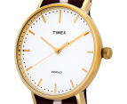Timex 41mm Weekender Fairfield Nylon Slip Thru Watch - Red/White 3