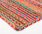 Maple & Elm 220x150cm Summer Braid Rug - Multi 2
