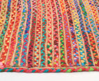 Maple & Elm 220x150cm Summer Braid Rug - Multi 3