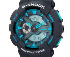 Casio G-Shock Men's 50mm GA110TS-8A2 Duo Watch - Grey/Blue 3