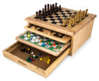 10-in-1 Wooden Board Gamehouse 1