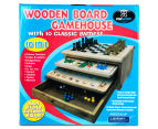 10-in-1 Wooden Board Gamehouse 6