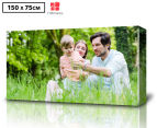 Personalised 150x75cm Rectangle Canvas 1