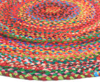 Maple & Elm 150cm Summer Whirl Cotton Rug - Multi 2