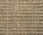 Maple & Elm 300x80cm Natural Fibre Chunky Knit Jute Runner - Natural Silver 4