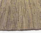 Maple & Elm 320x230cm Summer Fringe Cotton Rug - Yellow 3