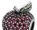 Pandora Apple Pavé Charm - Silver/Red/Green 4