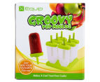 Equip Groovy Pop Moulds - Green 6