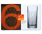 RCR Crystal 443mL Timeless 6-Piece High Ball Tumbler Set 4