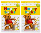 2 x Nappy Sacks 300-Pack 1