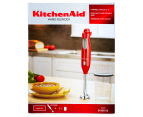 KitchenAid KHB100 Hand Blender - Empire Red 6
