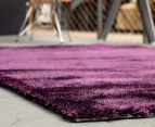 Super Soft High Quality 225x155cm Shag Rug - Eggplant 2