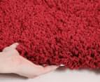 Soft & Plush Matte 230x160cm Shag Rug - Rouge 5