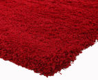 Soft & Plush Matte 400x80cm Shag Runner - Rouge 3