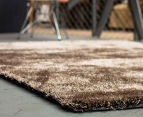 Super Soft High Quality 225x155cm Shag Rug - Gold 2