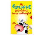 My Explosive Box Of Farts, Burps & Laughs 3-Book Slipcase 3