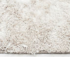 Super Soft Metallic 145x75cm Shag Rug 2-Pack - Natural 3