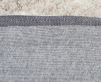 Super Soft Metallic 145x75cm Shag Rug 2-Pack - Natural 5