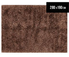 Super Soft 280x190cm Shag Rug - Gold 1
