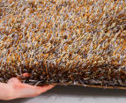 Super Soft 280x190cm Shag Rug - Gold 3